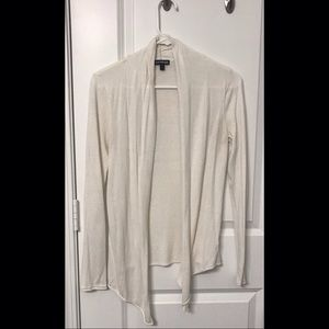 White Express Cardigan